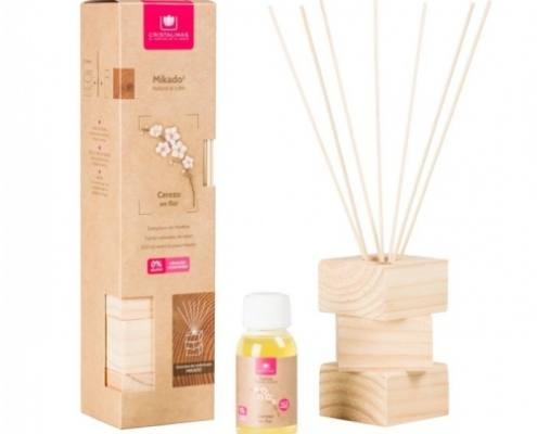 KIT Decorativo Completo Natural Wood Cerezo en Flor