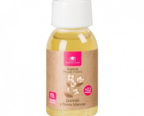 Recambio de Mikados Natural Wood Jazmín y Flores Blancas 100 ml